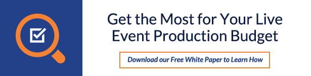 Live Event Production CTA White
