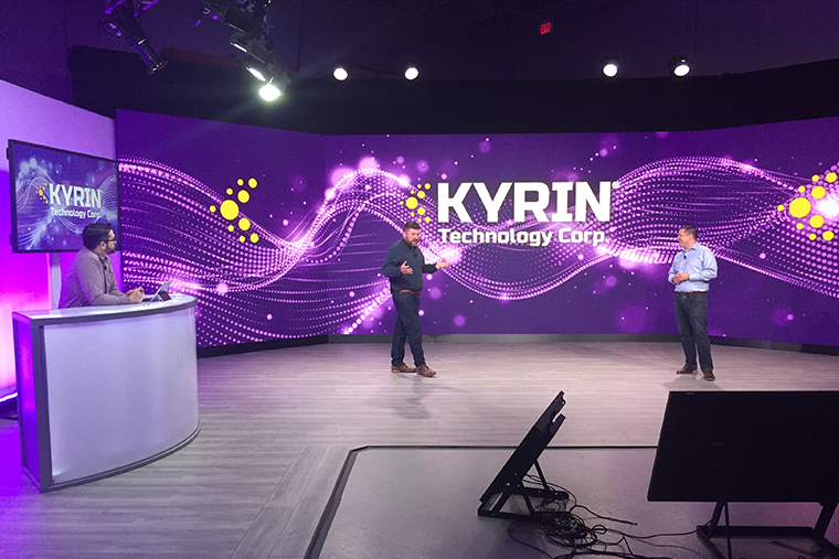Kyrin Virtual Event Stage